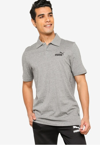 Puma grey Essentials Men's Polo Shirt 60511AAA1B6443GS_1