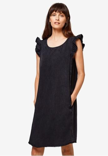ESPRIT black Light Woven Mini Dress 2098CAA7F110EDGS_1