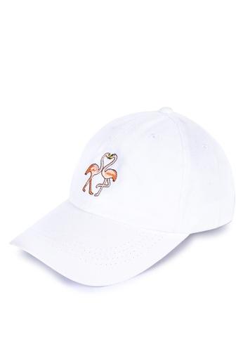 Shop Kimberley Flamingo Baseball Cap Online on ZALORA Philippines 14c4e0063e1