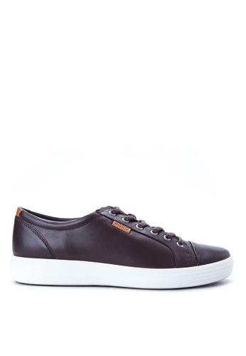 ECCO brown Soft 7 Sneakers EC876SH87ODCPH_1