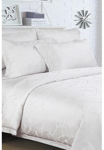 Epitex white Epitex MJ3018-04 1600TC Modal Jacquard Bedset 0EA54HL719857EGS_1