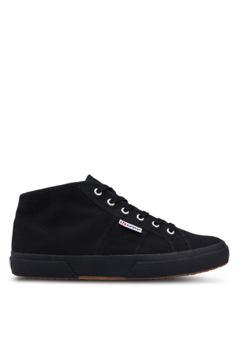Superga black Cloud Cotu Sneakers 4F91CSH5DE605CGS_1