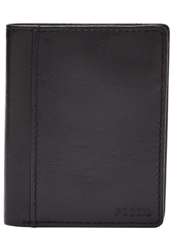 Fossil black Mykel Wallet SML1805001 1078EACFC3DB1AGS_1