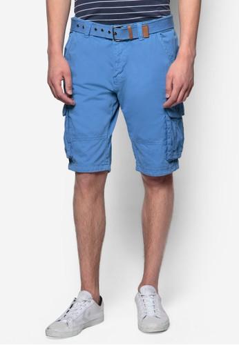 Monroesprit香港門市e 雙口袋休閒短褲, 服飾, 短褲