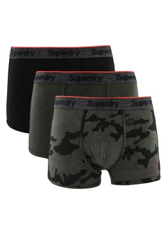 Superdry green and multi O L Sport Trunk Triple Pack B52FEUS22FE551GS 1 c480b2b790