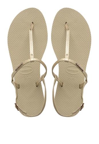 Havaianas grey You Riviera Sandals D066ESH451EBAEGS_1