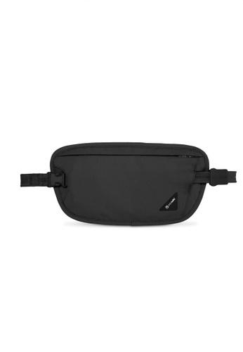 Pacsafe black Pacsafe Coversafe X100 RFID Blocking Waist Wallet (Black) 668B6AC75FEFC9GS_1