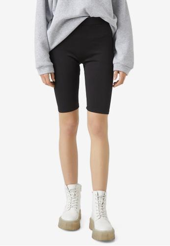 KOTON black Casual Short Leggings 4830FAA76234FAGS_1