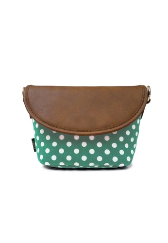 ideer green Polka  Mini Mint Mirrorless Camera Bag ID808AC28OEHPH_1