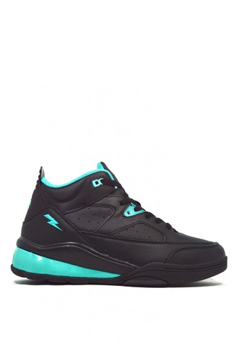 ACCEL black and blue Explode Basket Ball Shoes BF3C3SH7C16C45GS_1
