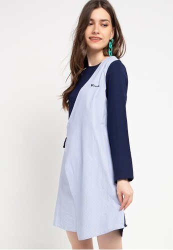Cressida Ladies navy Fardhaza Dress C9660AAE519991GS_1