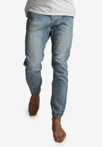 Cotton On blue Slim Denim Joggers BA906AA9D3FA03GS_1