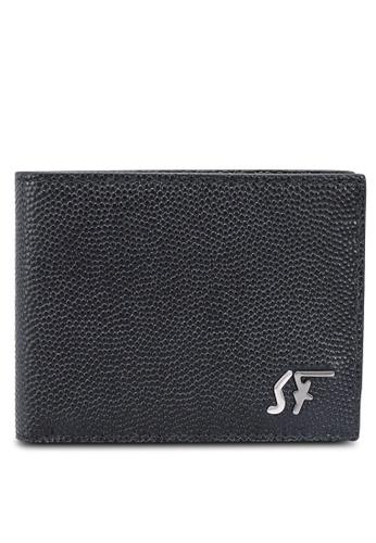 Ferragamo black Signature Wallet (zt) 6D84EAC13D30DEGS_1