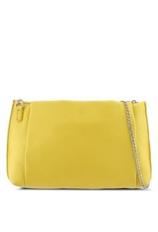 743a57c587 Yellow Pouch Zip Top Clutch C5B6DAC24FA7DFGS 1