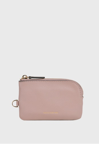 Tocco Toscano pink Lunar Coin Pouch (Dusty Pink) 2125DAC0963EDEGS_1