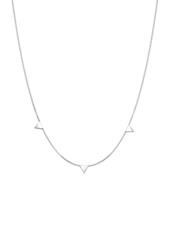 Elli Germany silver Elli Germany Necklace Triangle Geo 925 Sterling Silver 3748DACD9C99BCGS_1