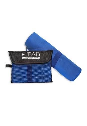 Fitlab blue Microfiber Beach Towel 7AD20HLFCAD37EGS_1