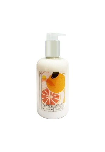 MARKS & SPENCER pink M&S Pink Grapefruit & Watermelon Hand & Body Lotion 300ml 1BA7BBE9A9C691GS_1