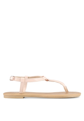 Rubi pink Everyday Hoop Metal Sandals RU506SH0S4UXMY_1