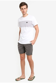 a801f53d3fcbb 14% OFF Billabong Banded Die Cut Tee S$ 49.90 NOW S$ 42.90 Sizes S M L XL
