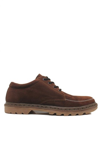 D-Island brown D-Island Shoes Low Boots Limited Leather Dark Brown DI594SH97CVUID_1