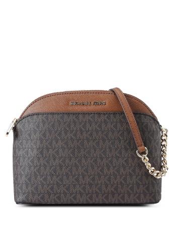 MICHAEL KORS brown Dome Crossbody Bag (nt) 6B4D5ACE50AC6EGS_1