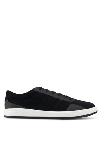 Call It Spring black Hollis Lace Up Sneakers DDD62SHB5527F9GS_1