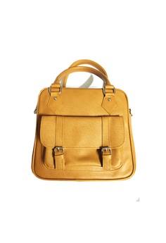 MARCHE brown sling bag