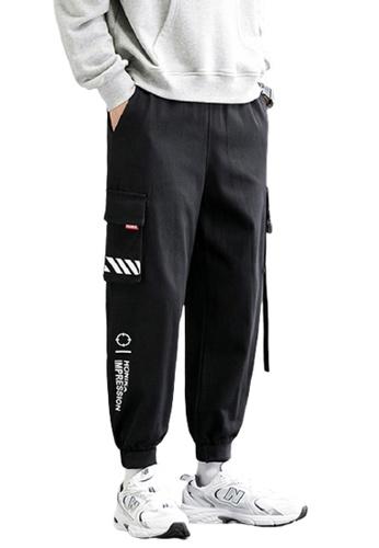 Trendyshop black Skinny Jogger Pants 97161AA6221B5FGS_1