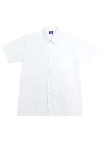 Swan white SWAN Premium Primary Hard collar White Shirt Short Sleeve Boy's School Uniform 8F435KA1BD6B23GS_1
