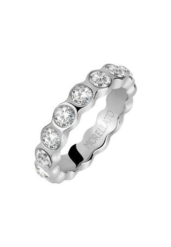 Morellato silver Cerchi Ring SAKM41012 Steel Crystals DD00AAC11E4BDCGS_1