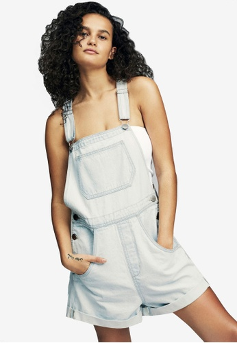 Cotton On blue 90S Denim Overall 95A79AA155712DGS_1