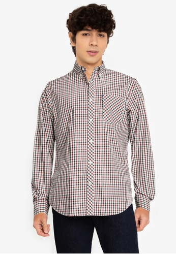 Ben Sherman red Signature House Check 39A67AA9B9F848GS_1
