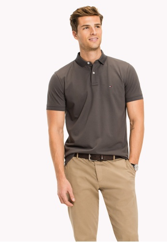 Tommy Hilfiger grey TOMMY REGULAR POLO 5B0C8AAB87D86DGS_1