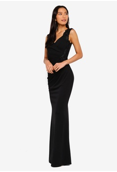 2b5b017593 Lipsy Embellished V Neck Maxi Dress S  214.90. Sizes 6 8 10