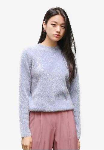 0a0408821022d1 Shop NAIN Metallic Knit Top Online on ZALORA Philippines