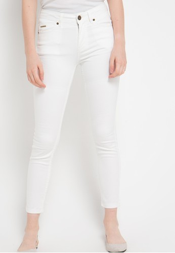 GRAPHIS white Long Pants GR530AA18KDPID_1