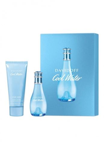 DAVIDOFF blue DAVIDOFF Cool Water Woman Eau de Toilette Spring Premium Set C4560BE1E760FAGS_1