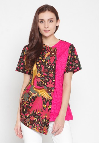 Batik Etniq Craft Sanghai Batik Short Sleeve