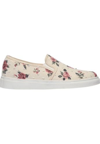 paperplanes SNRD-138 Flower Pattern Tall-Up Casual Slip-Ons Shoes US Women Size PA355SH28QAXSG_1