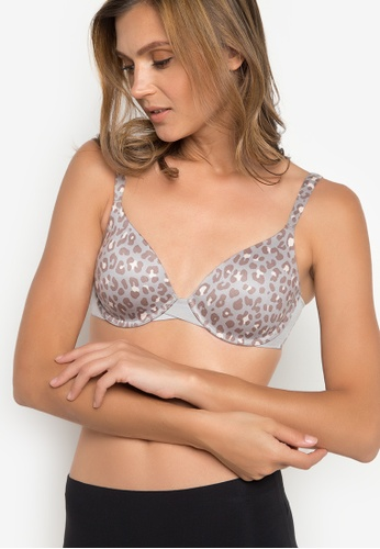 Spanx brown Pillow Cup Signature Full Coverage Bra SP273US43BKAPH_1