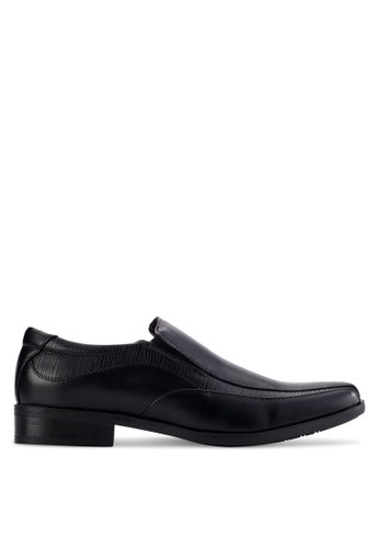 Louis Cuppers black Business Shoes LO977SH60AZVMY_1