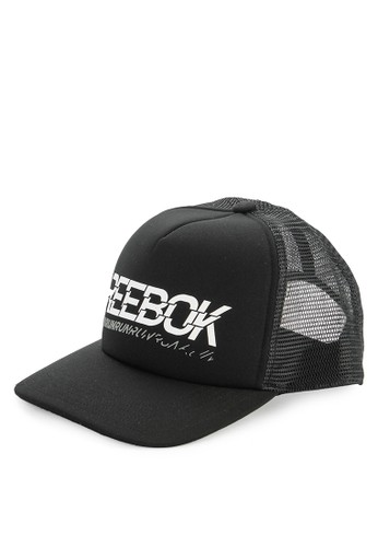 Reebok black Run Club U Trucker 41216ACBCEA82AGS_1