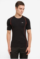 2GO black Performance Short Sleeve T-Shirt 2G729AA0S602MY_1
