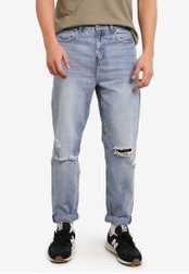 Cotton On blue Slouch Tapered Leg Jeans CO372AA0S49OMY_1