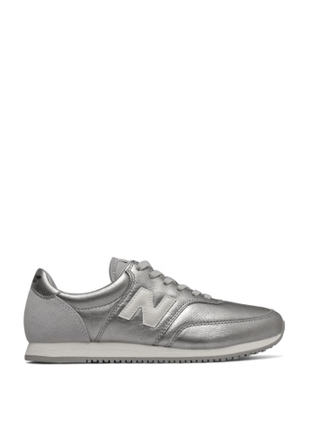 New Balance 銀色 Comps 100 Classic Running Shoes 074F0SH284FFD8GS_1