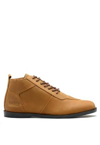 Brodo brown BRODO - Sepatu Pria Venturide Choco Tan Black Sole 14825SH016F0A4GS_1