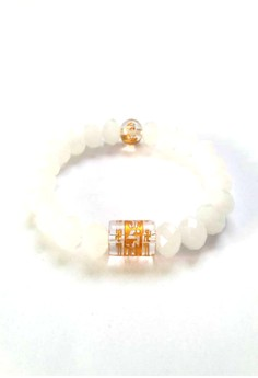 Feng Shui Crystal with Protection Mantra Bracelet