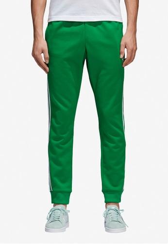adidas green adidas originals sst track pants AD372AA0SUNDMY_1