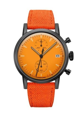 Undone black and orange and multi Undone Modern Orange Watch   UN712AC2VEJCHK_1